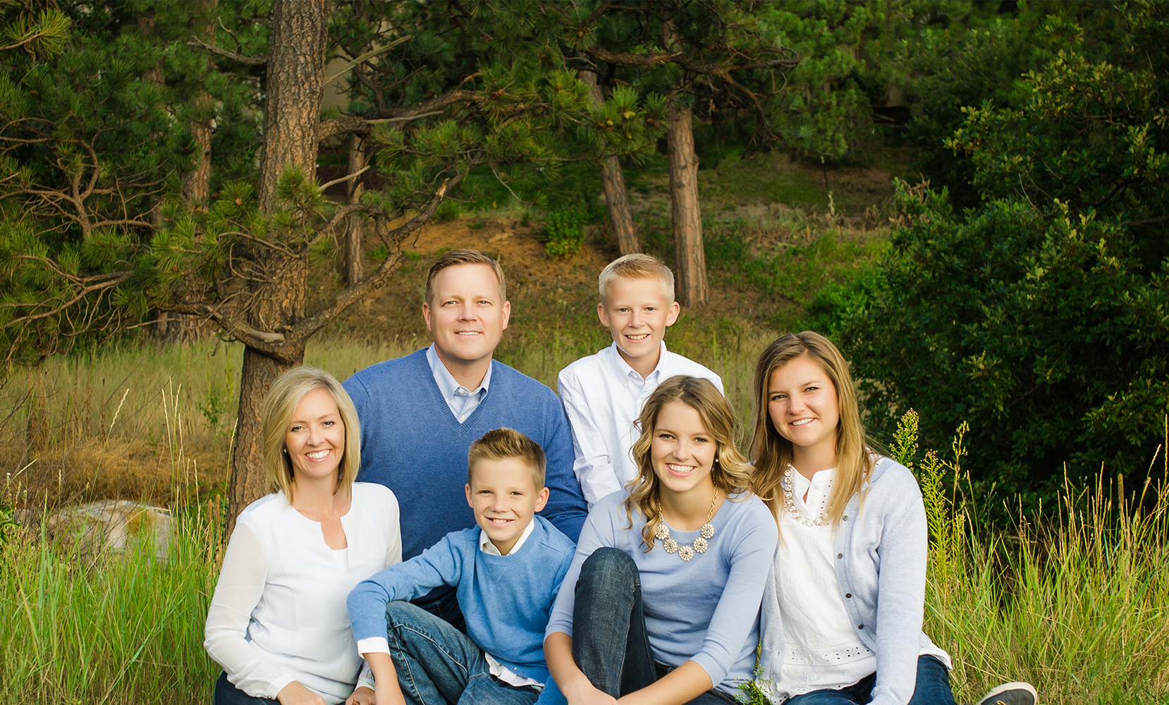 Dr. Polson and his family