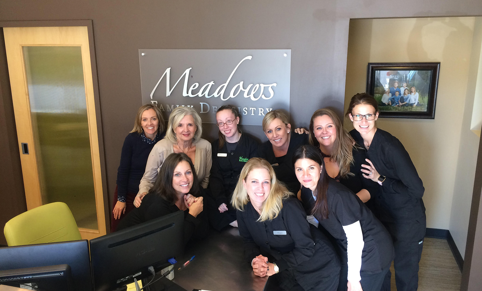 Meadows Family Dentistry staff